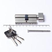 Oxloc Profielcilinder knop dubbel sl35/kn30 SKG**