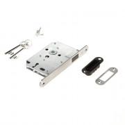 Intersteel magneet klavier woningbouw dag- en nachtslot met roestvaststaal voorplaat 20X175 mm, inclusief sluitkom