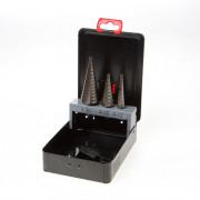 Kelfort Plaatborenset HSS 3-delig getrapt 4-30mm