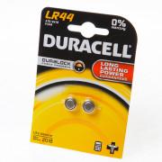 Duracell Knoopcelbatterij lr44 LBL2 blister van 2 batterijen