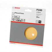 Bosch Schuurschijf wood and paint diameter 150mm K240 blister van 5 schijven