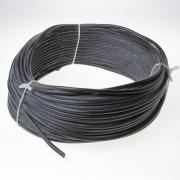 Kabel neopreen zwart 2 x 1.5mm² x 50 meter