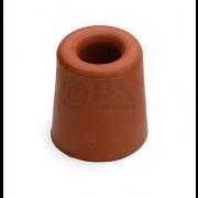 Dulimex DBR 33 BR Deurbuffer DX diameter 31x33mm rubber bruin 0522.133.1333
