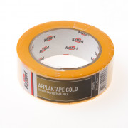 Afplaktape gold 50mm x 50 meter