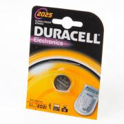 Duracell Knoopcelbatterij cr2025 3v litium