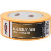 Afplaktape gold 38mm x 50 meter