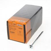 Eurotec Tellerkopschroef verzinkt T40 8x160mm (per 50 stuks)