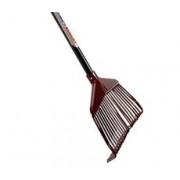Talen Tools Bladhark kunststof 21 tanden met steel 150cm hark 200 x 400mm