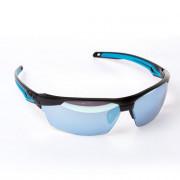Bolle Veiligheidsbril Tryon zonnelens zwart/blauw