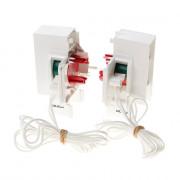 Koordbed.set Ducoton ventilatierooster 10/30 wit