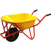 Kelfort Stratenmakers kruiwagen kunststof bak ks geel