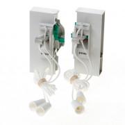 Koordbed.set Ducoklep ventilatierooster 15/k21 grijs