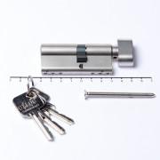 Oxloc Profielcilinder knop dubbel sl40/kn30 SKG**