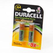 Duracell Batterij duracell penlite oplaadbaar aa blister van 4 batterijen