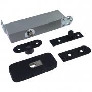 ODB.100ZS3 Taatsscharnier met vaste bovenspeun voor stalen taatsdeuren van max.100kg - zwart