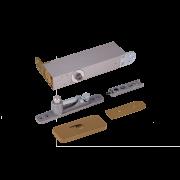 ODB-100G Taatsdeurscharnier goud voor pivoterende deuren van max.100kg - goude afdekplaten
